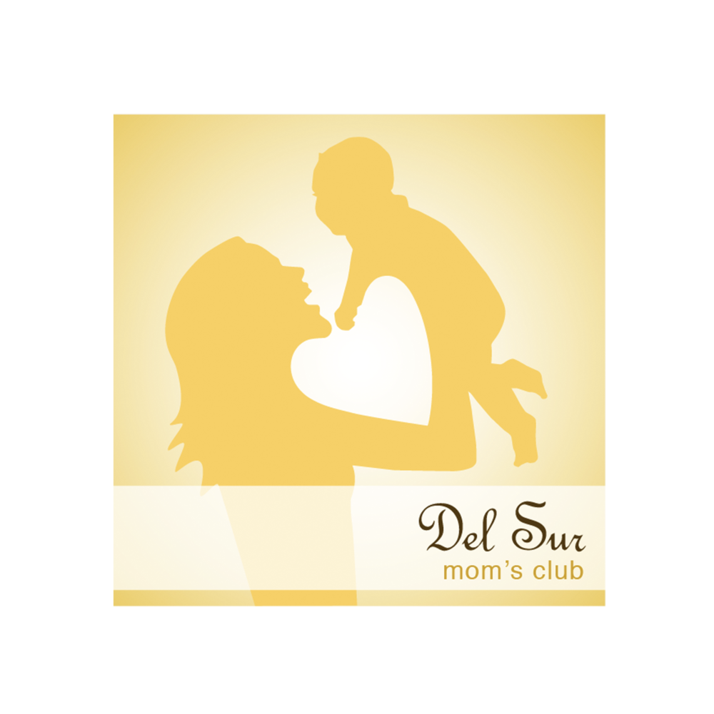 DEL SUR MOM'S CLUB LOGO   |   one of the largest mom's clubs in San Diego, serves as a source of support and an environment where mothers can develop and strengthen friendships and community; exchange information; enrich personal and professional growth; and have opportunities for social interaction with other mothers, children, and families.