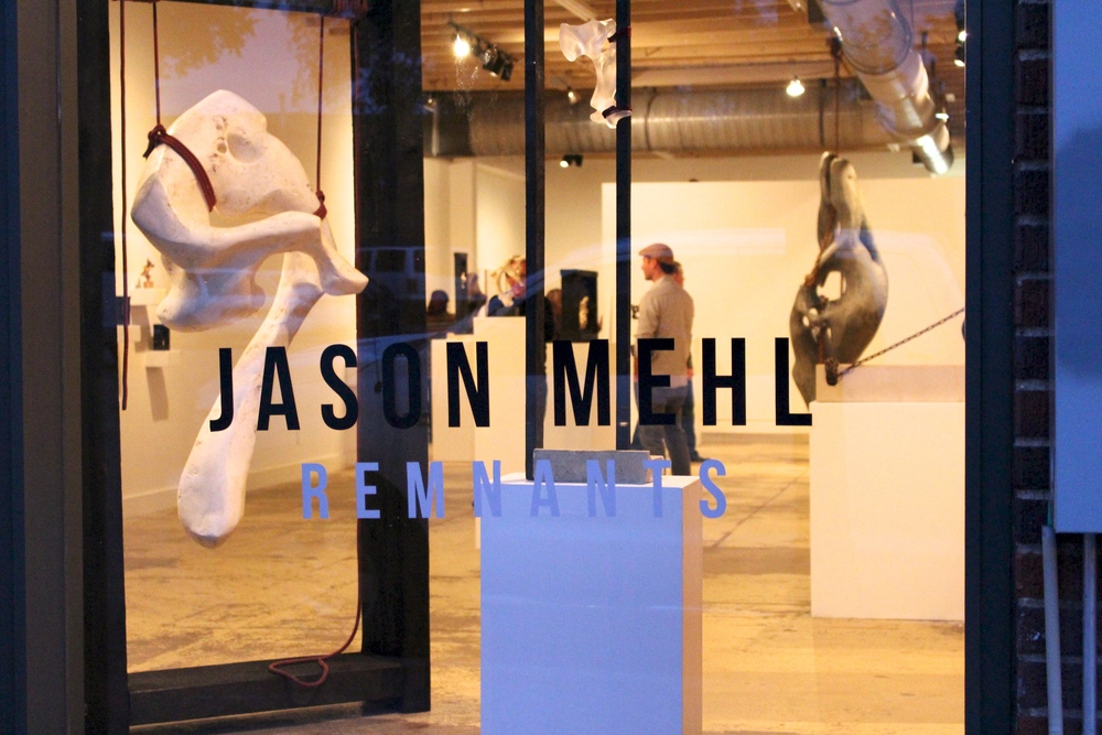 Jason Mehl // Solo Exhibit // Remnants