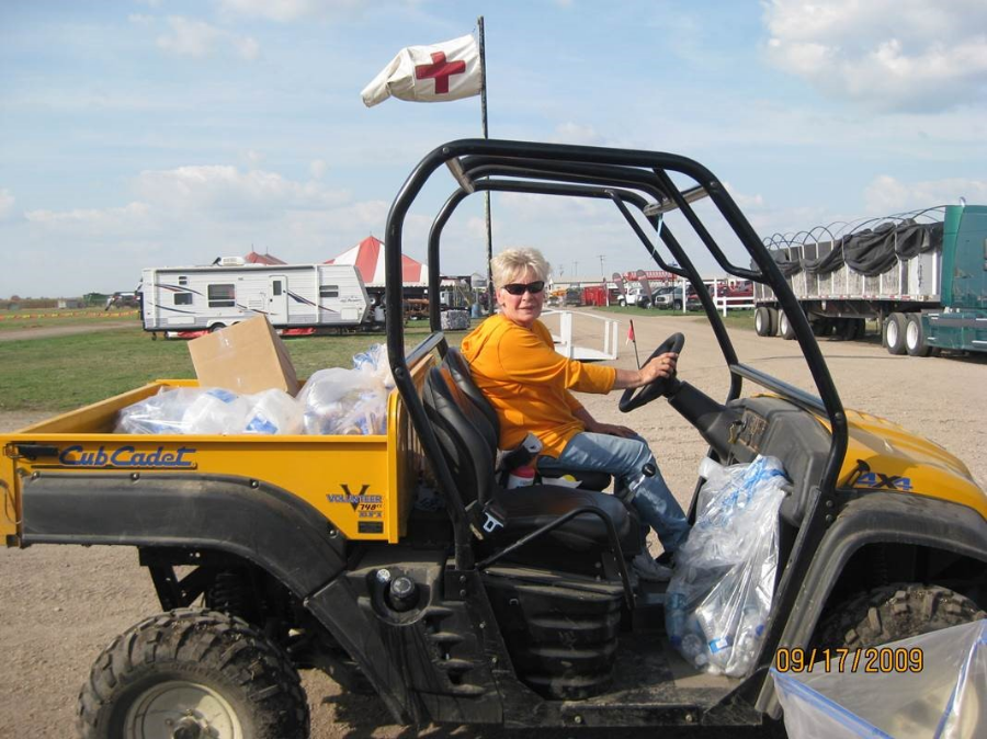 Betty Curtis at Husker Harvest Days 2009