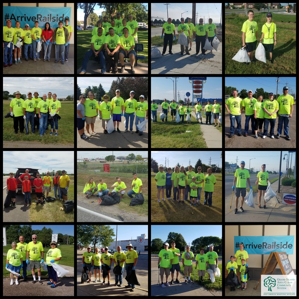 Thank you to our 600+ volunteers who participated in the 2016 City Wide Clean-up! Volunteers cleaned 57 miles of roadways & 124 acres of public spaces.