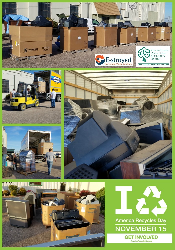 During our fall Electronics Recycling Day we collected 19,750 pounds of electronics, including 259 televisions!