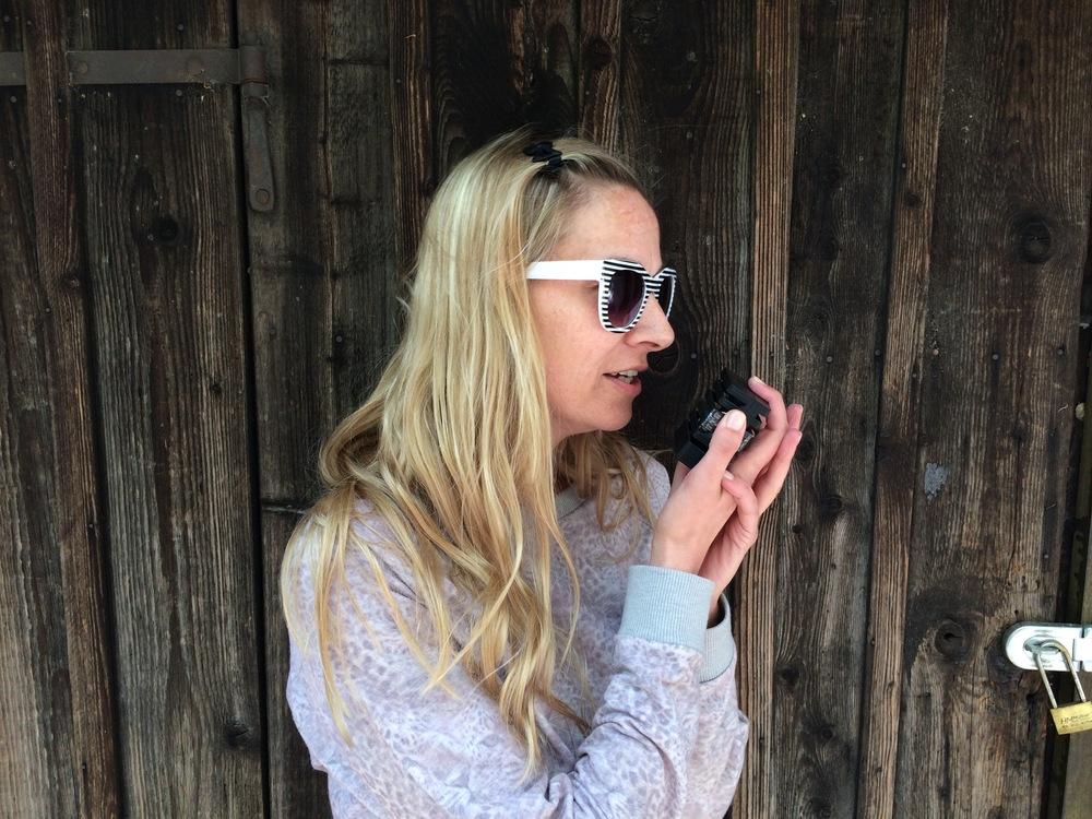 First 3D printed prototype of Mikme microphone - Doris Sonnleitner
