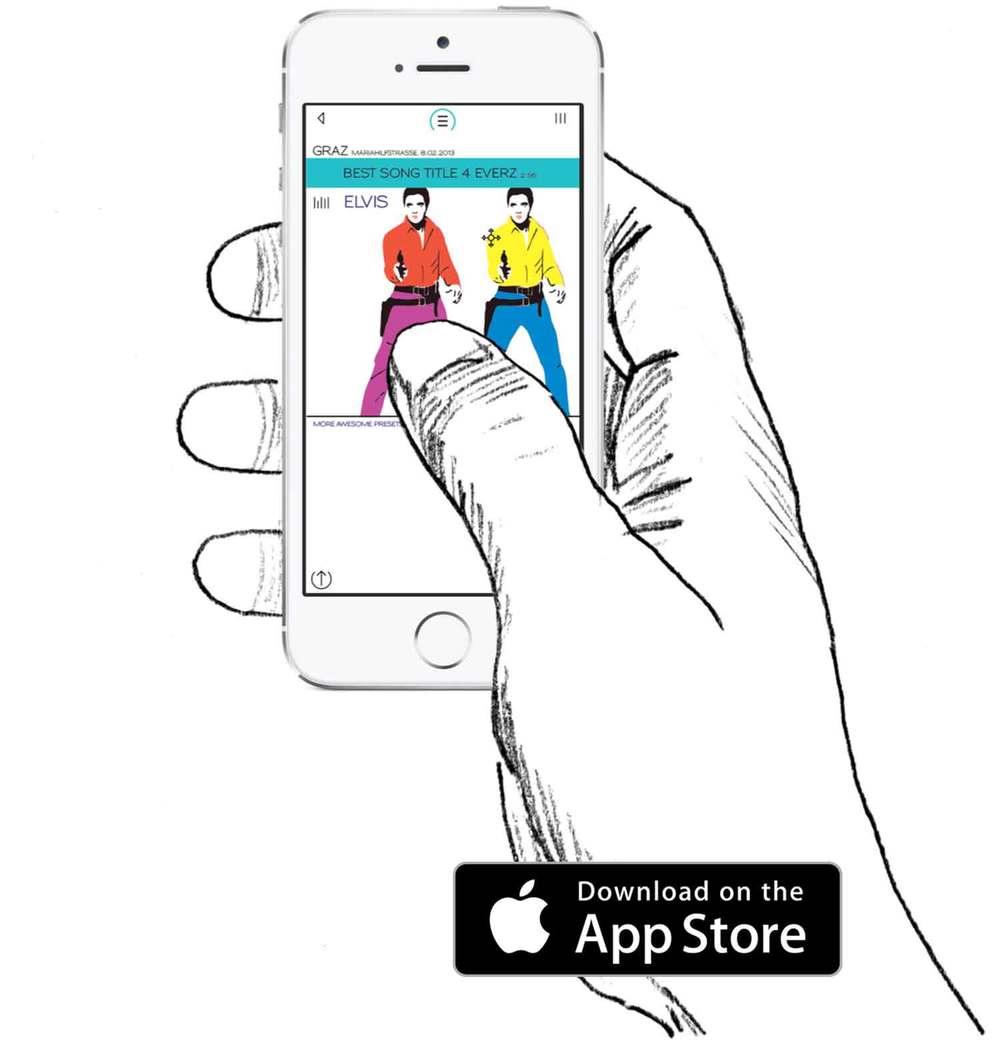 Mikme hand app drawn