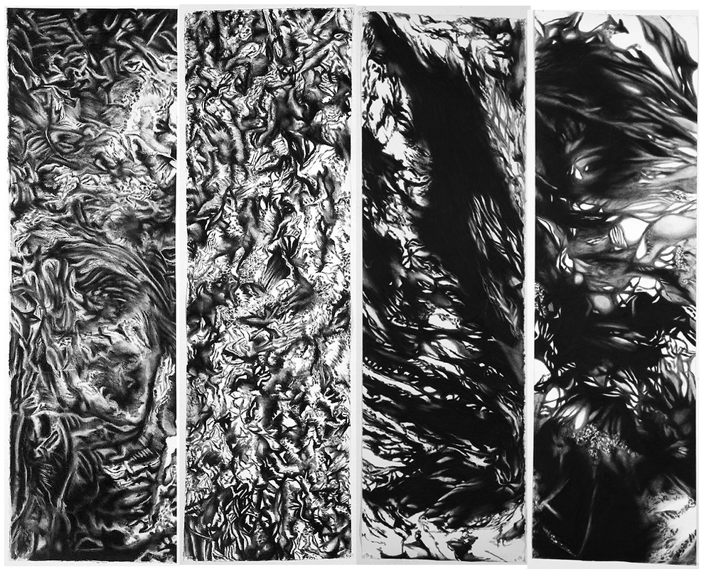 I'm pleased to invite you to the opening of 'More Than This,' a group show at Theodore:Art opening this Saturday, November 8th. Four charcoal drawings from my 'Under' (http://bit.ly/UnderSHR) series will be showcased and for sale. Please feel free to email me with any questions or inquiries (info@sarahhreynolds.com).  DETAILS: Saturday, November 8th | 6-9pm Theodore:Art 56 Bogart, Brooklyn, NY PARTICIPATING ARTISTS: Nancy Handler Erik Hanson Sarah Reynolds Michelle Vaughan Andrew Witkin FACEBOOK INVITE HERE: http://bit.ly/MTTopening