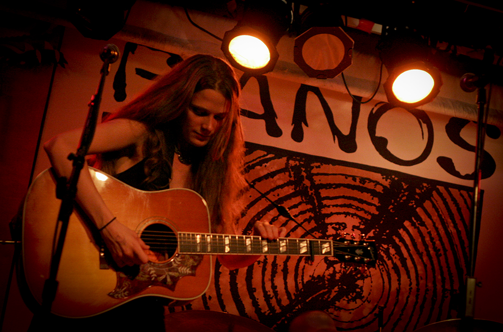 Sarah Bowman at Pianos