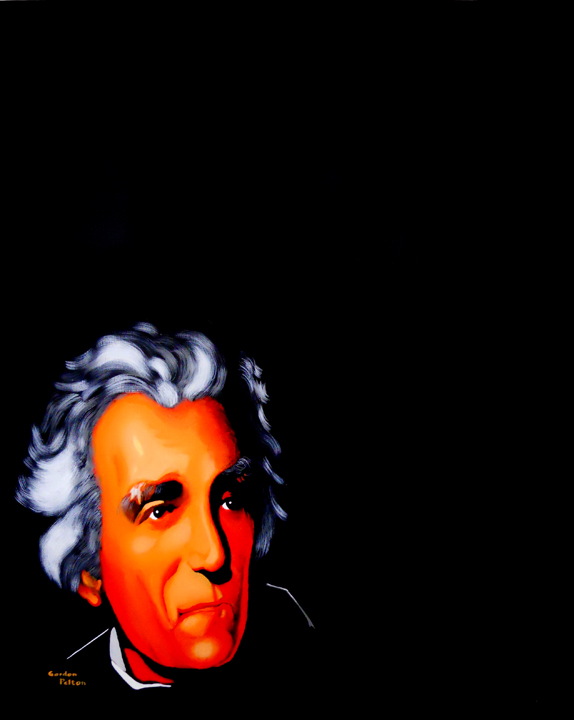 "Andrew Jackson   24"" x 30"" Gallery-Wrap Acrylic $2880  Giclee Copies Available             PLACE ORDER"