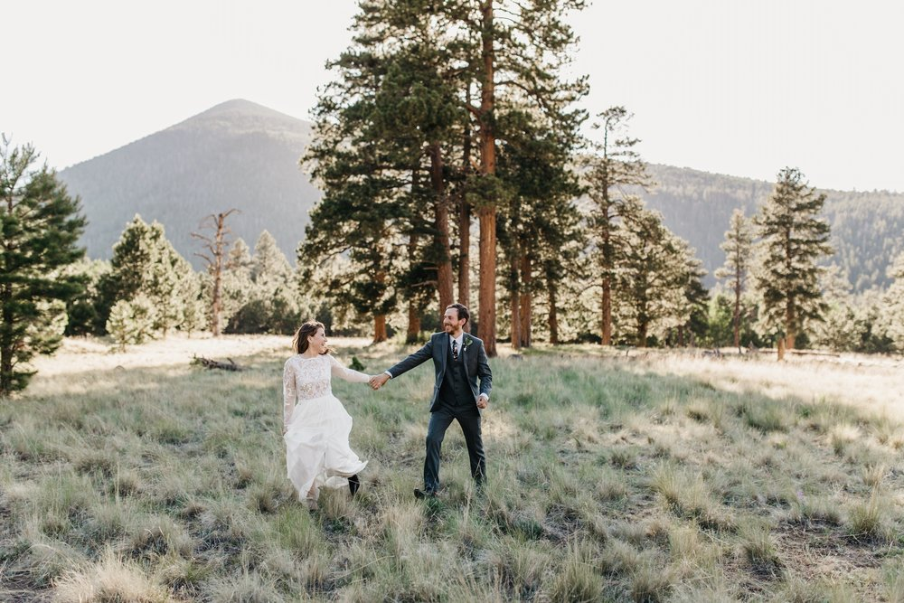 SMALL WEDDING | LOCKET MEADOW ARIZONA -