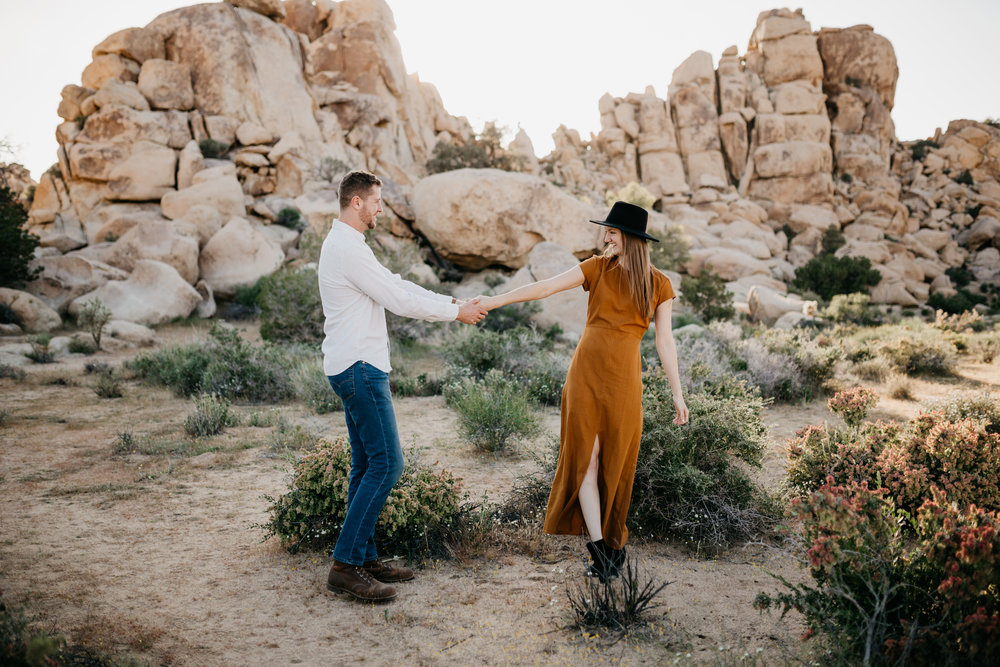 JOSHUA TREE | CALIFORNIA ENGAGEMENT -
