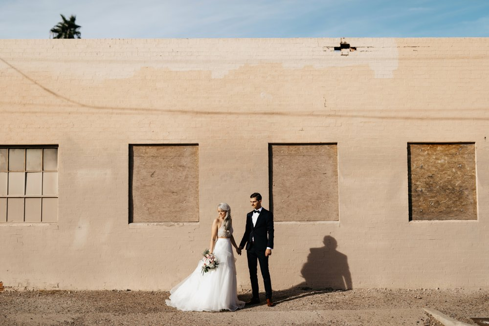 BRICK WAREHOUSE WEDDING | PHOENIX ARIZONA -