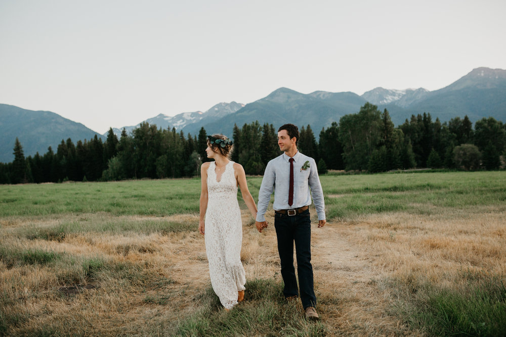 WALLOWA MOUNTAINS WEDDING | JOSEPH OREGON -