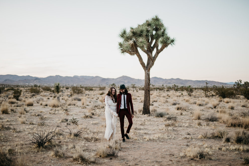 JOSHUA TREE CALIFORNIA | ELOPEMENT -