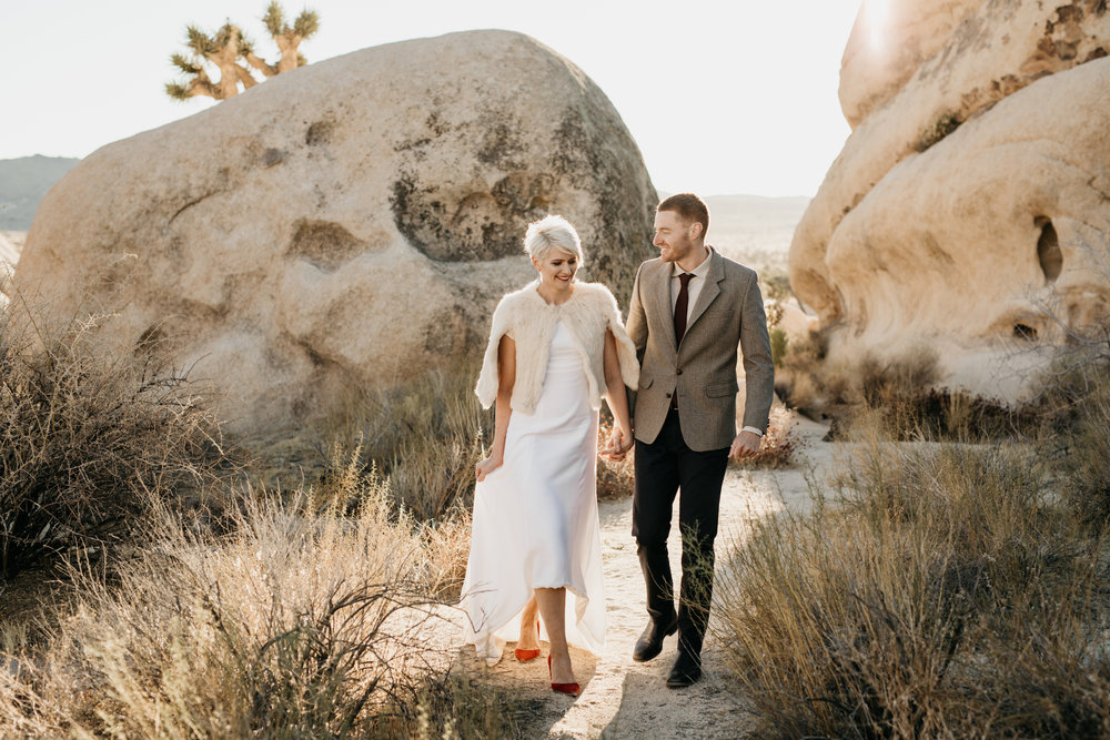 JOSHUA TREE | ELOPEMENT -