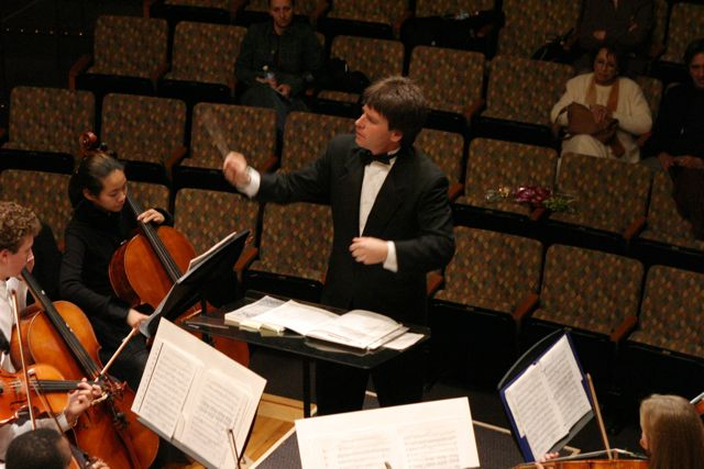 Conducting LA Youth Orchestra