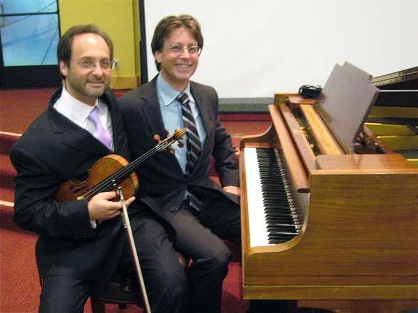 Violinist Mitchell Newman