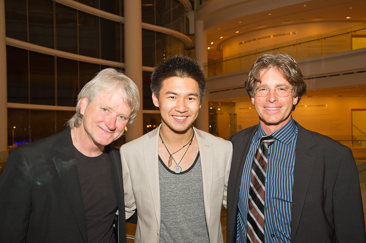 Carl St. Clair (Pacific Symphony) and Conrad Tao (pianist)