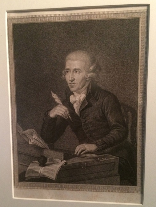 Haydn at the piano by Luigi Schiavonetti, neat and organized, but the ink looks like it might spill :)