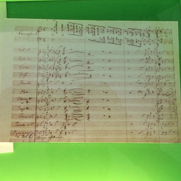 opening page from Schumann Piano Concerto