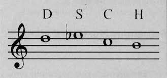 "Shostakovich's autobiographic musical cryptogram: four notes to represent ""Dmitri Shostakovich"""