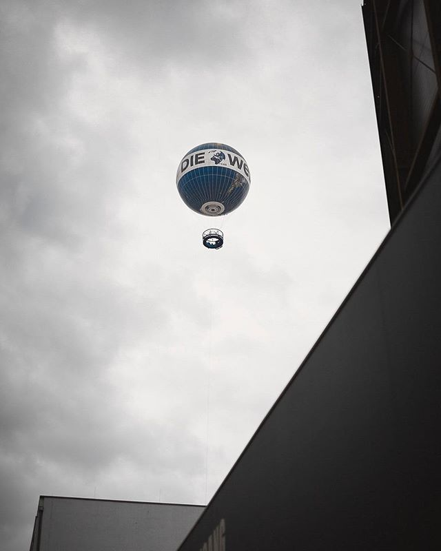 Balloons in Berlin. We didn't go up in this thing but I'm sure it's one hell of a way to see the city!