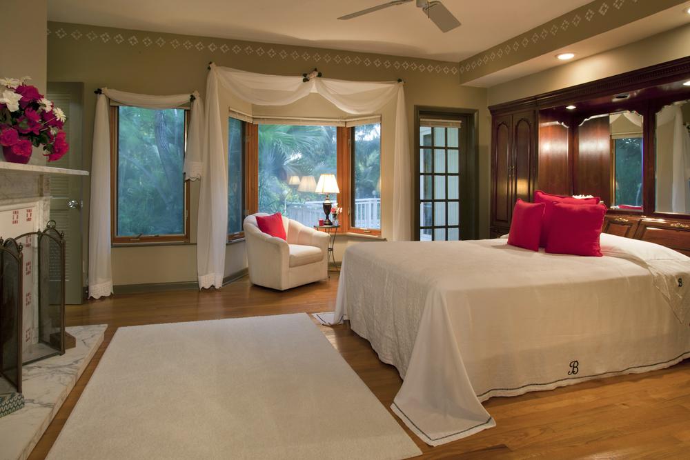 Master bedroom interior photo