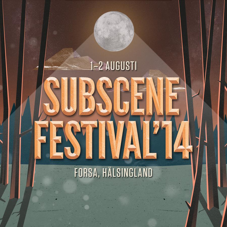 Vill du arbeta som volontär på Subscene Festival, 1-2 Augusti i Forsa?