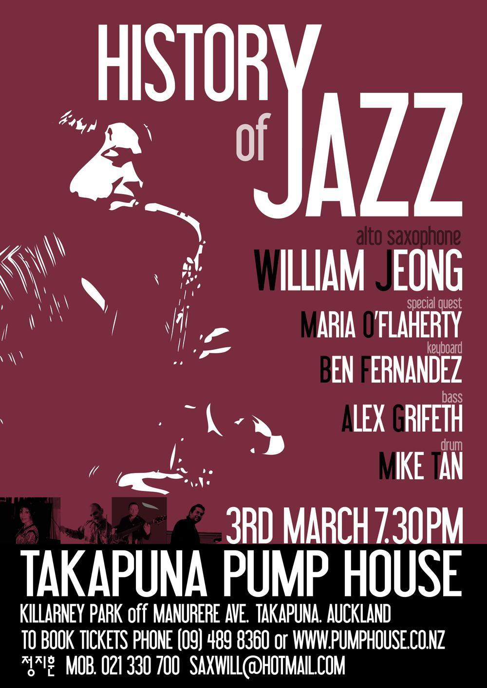 History of Jazz Part 1 / New Zealand, 2007