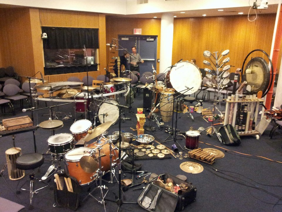 Recording of The Drum Ensemble / NY, 2012