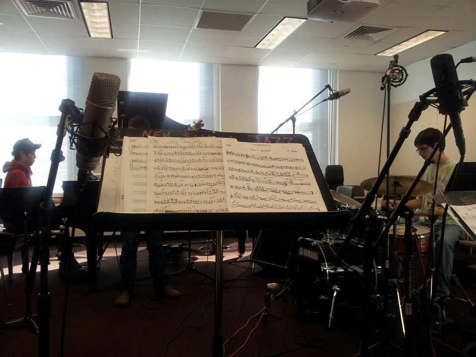 Recording of Jimmy Owens Ensemble / NY, 2010