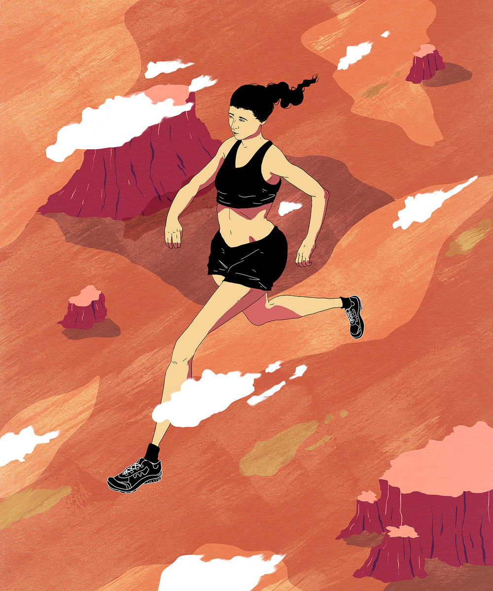 Ultra running - One of two for a series on long distance runners.