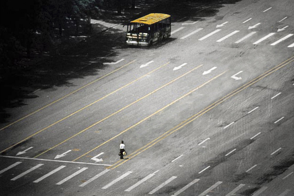 Untitled #15 (Tank Man), 2006