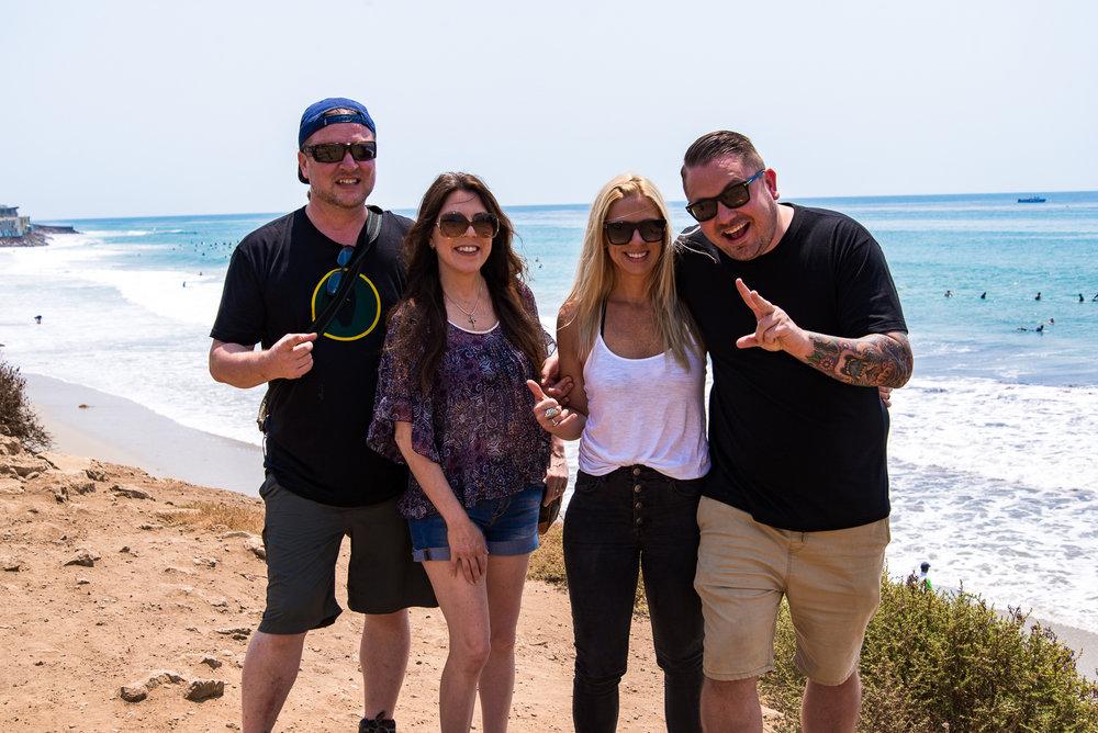 Me, Danielle, An, and Kyle