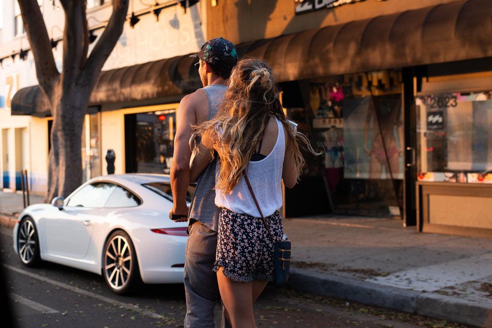 Lovers in Venice, Ca.