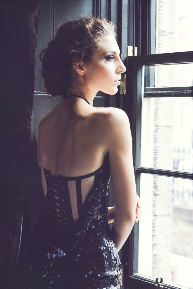 Model Elena photographed by Kirsty Stroma Bain   Make up: Alexis   AAdora.Bella