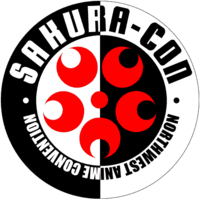 Sakura-Con logo, Anime con in Seattle, WA - Gaijin Kanpai! J-Pop J-Rock J-Music Podcast