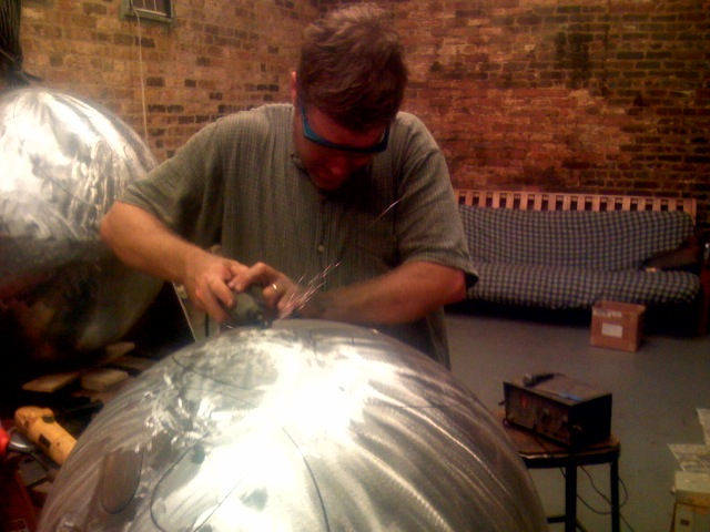 photo of kevin tuning steel spheres.jpg