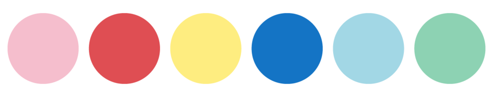 kids colour palette
