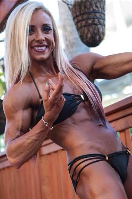 Hanna Hallman IFBB PRO WOMEN'S PHYSIQUE