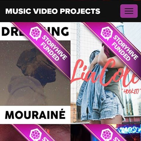 HECK YEAH WE DID!!!! Massive thanks to @storyhive and to everyone who supported us during voting!!! You made all the difference! This one's for the dreamers!! 🍾🍾🍾🍾🍾🍾🍾 . . . . . #yegart #yeg #yegmusic #yeggers #yeghiphop #canadianhiphop #canadianrapper #mouraine #storyhive #femaledirector #musicvideo #musicvideoshoot