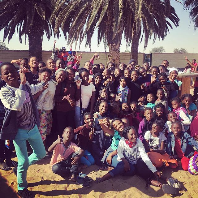 So much talent in these 2 school choirs! I'm sure gonna miss all the hugs and smiling faces! Today is concert day where the kids get to perform for their community and show the world what their traditional music is all about! Stay tuned! #musicofthemotherland #documentary #walvisbay #namibia