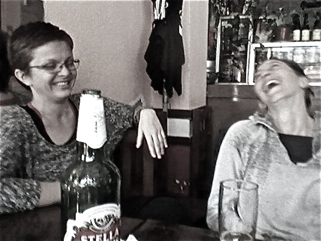 post-class laugh-bash.  come join the fun!