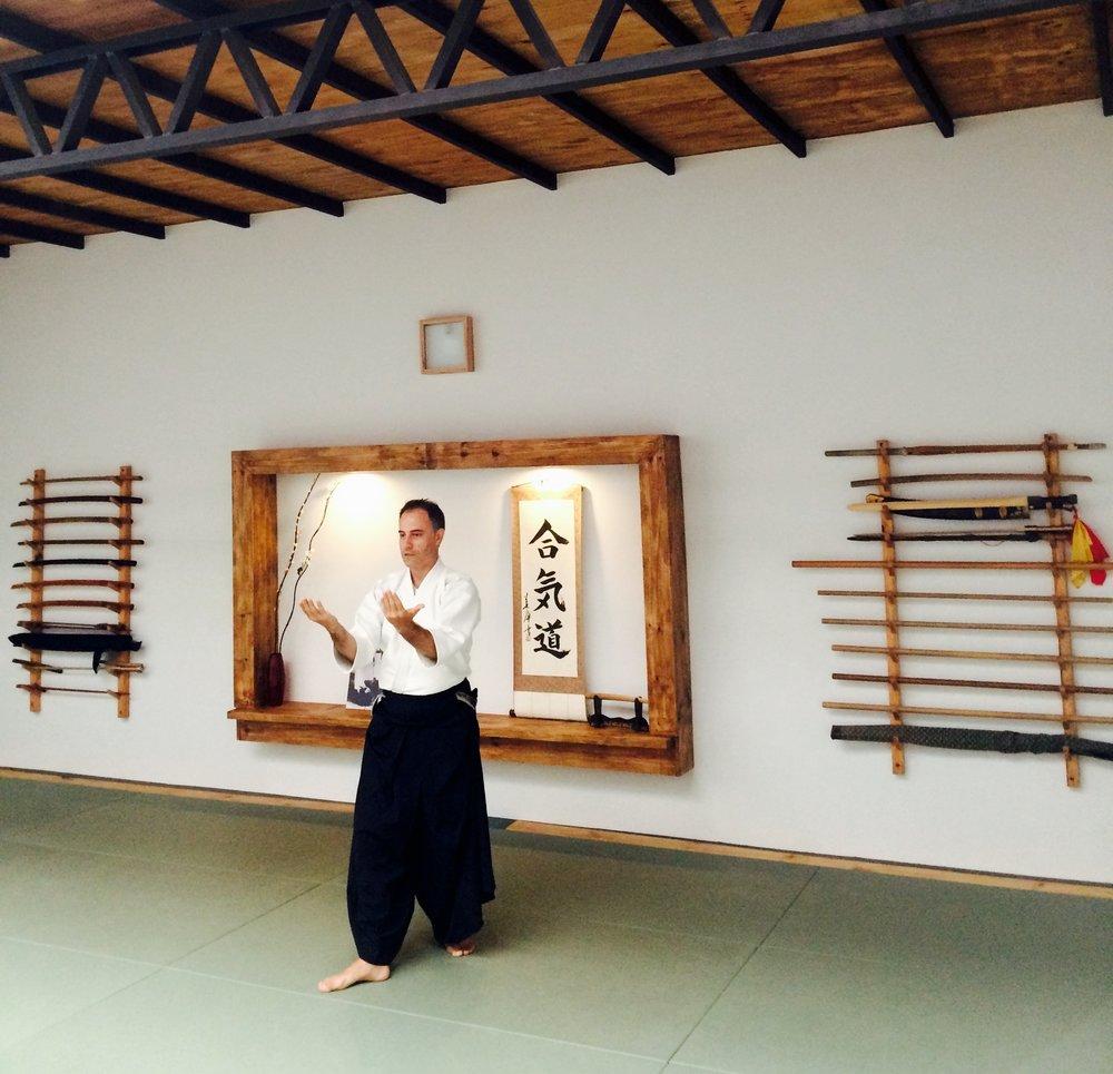 sensei walter rodriguez en betsubara dojo