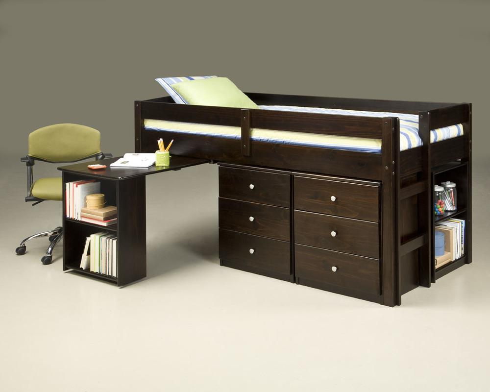 910 Twin Loft over Desk_2Nightstands & 1 Bookcase_open.jpg