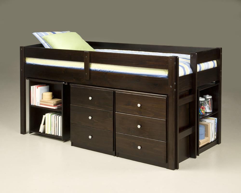 910 Twin Loft over Desk_2Nightstands & 1 Bookcase-closed.jpg