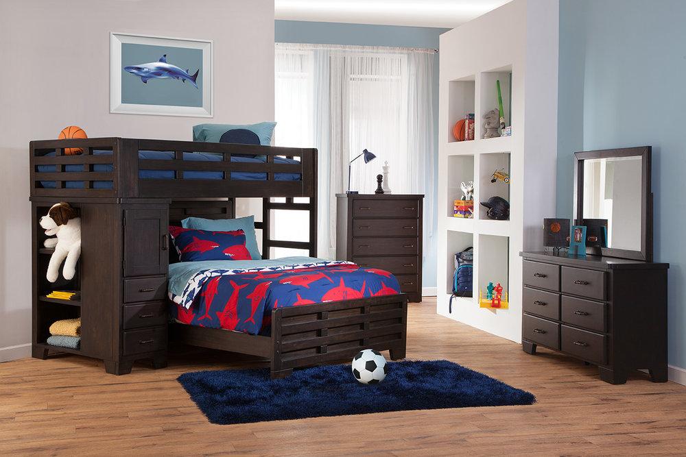 Student loft bed