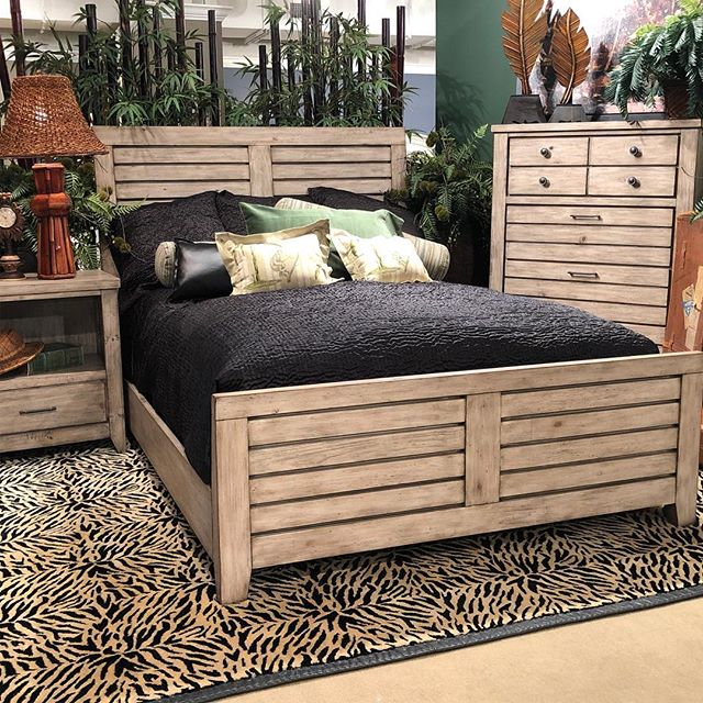 The Kittyhawk collection! Great rustic coastal addition to our lineup! #hpmkt #furniture #artofthebedroom #coastaldecor #hpmkt2018