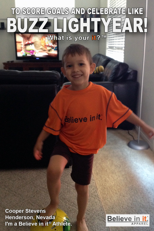 Cooper Stevens Believe in it Athlete