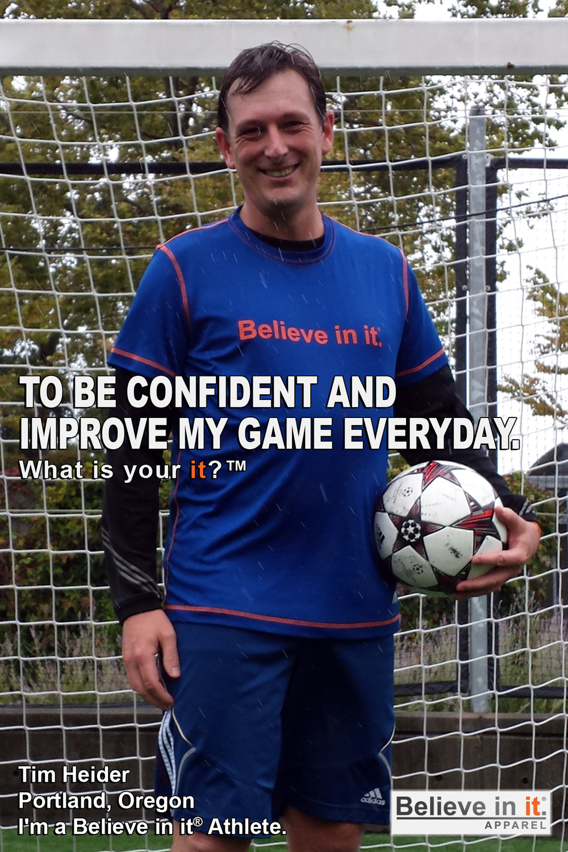 Tim Hieder Believe in it Athlete