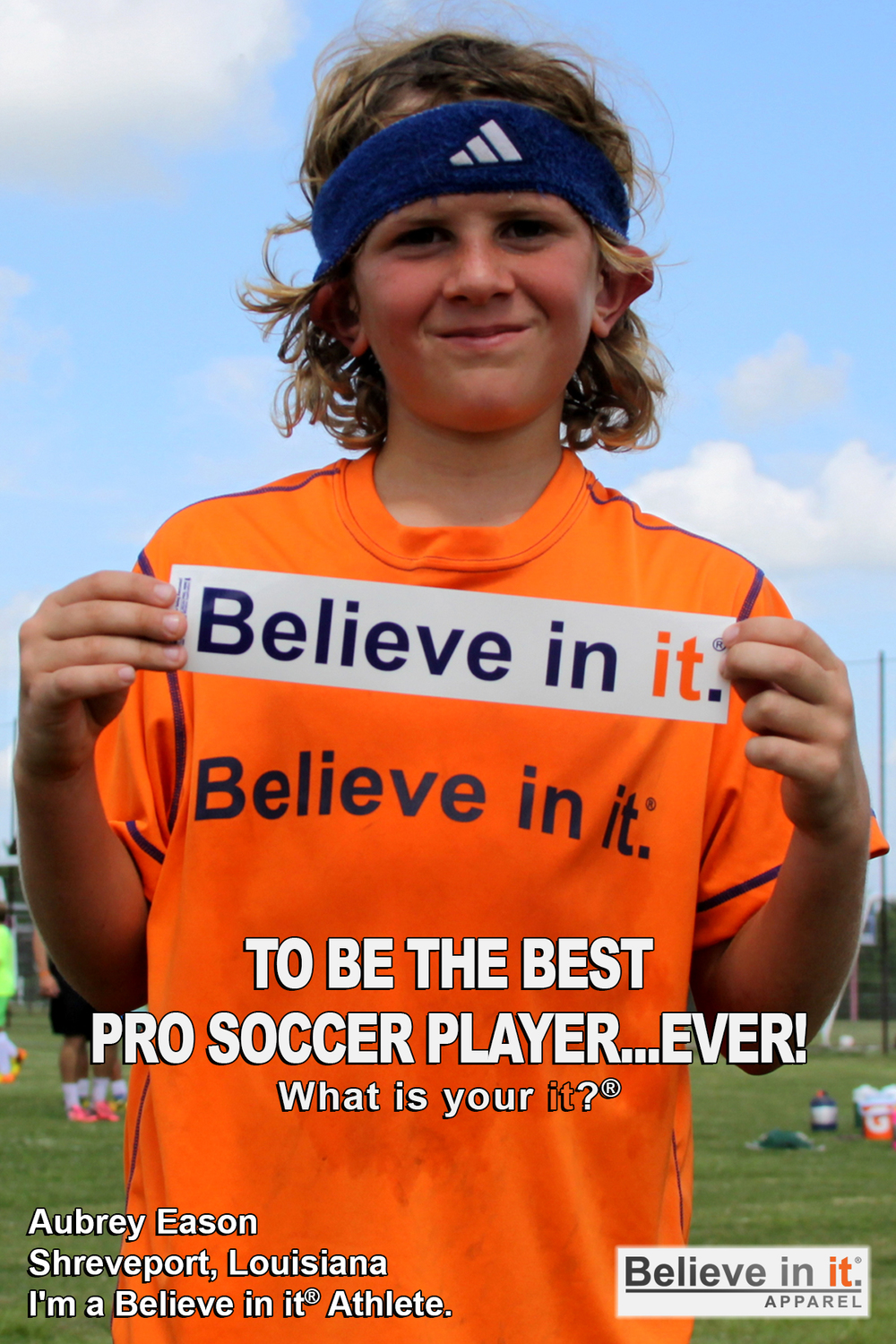 Aubrey Eason Believe in it Athlete