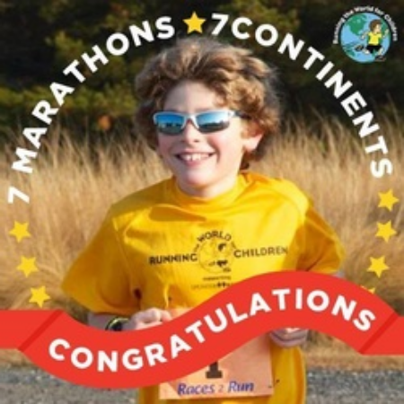11 Year Old Runs Marathons on 7 Continents   October 29 , 2014