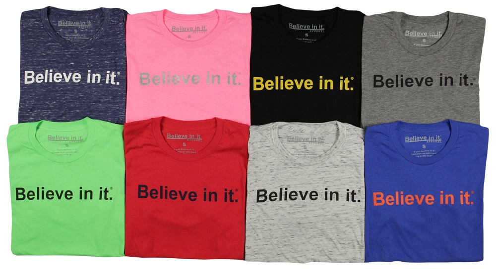 Believe in it® Apparel